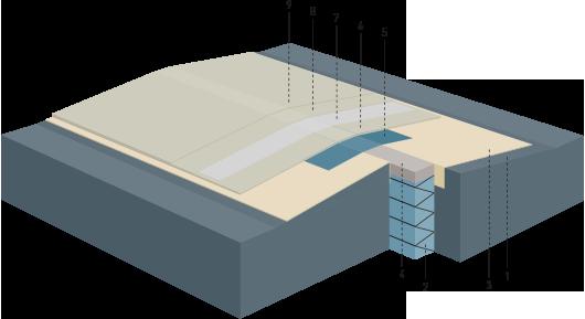 wu beton dehnfugen mit wecryl fugenabdichtungssystem. Black Bedroom Furniture Sets. Home Design Ideas