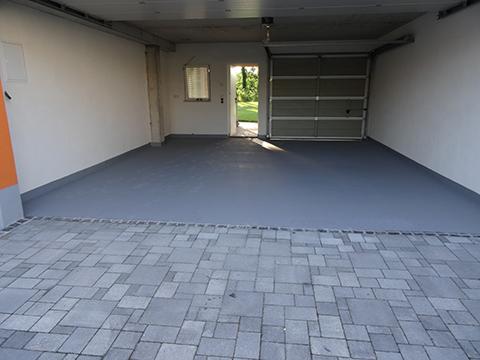 Gussasphalt garage