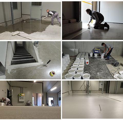 Bekannt Starker Industrieboden für Landeier Industrieboden für die neue BY25