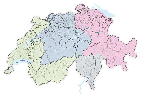 Map Swiss